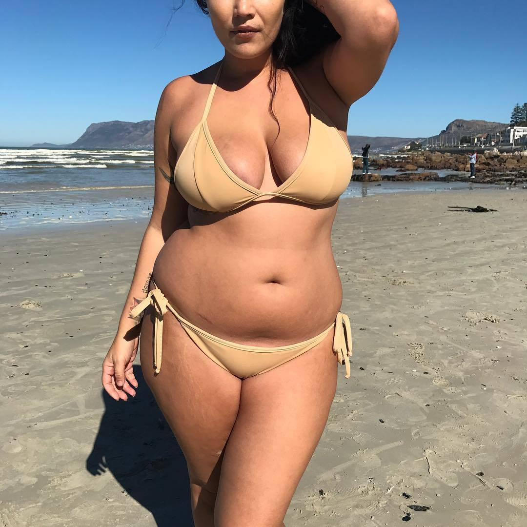 Swimming sut for chubby girls
