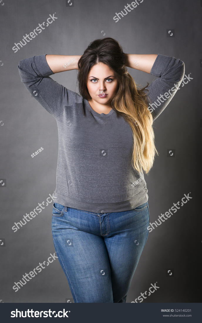 69f6c19bf Stock photo model (name unknown) - Plus-Size Models - Curvage