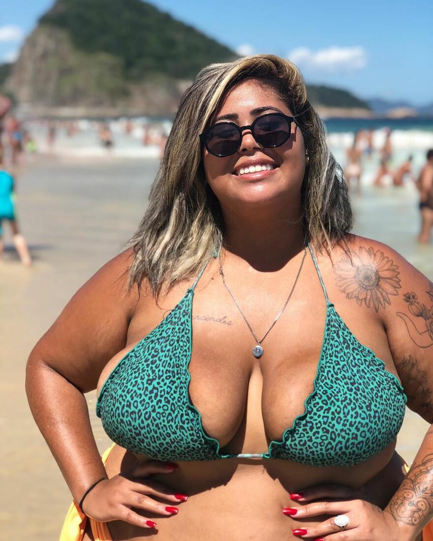 a very sexy Brazilian Instagram BBW - Plus-Size Models