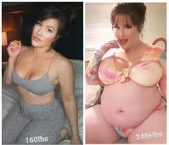 Women Weight Gain Before & After